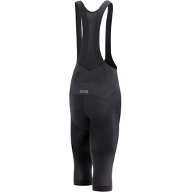 GORE WEAR C5 Windstopper 3/4 Bib Tights Men black